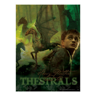 Harry Potter Thestrals Poster