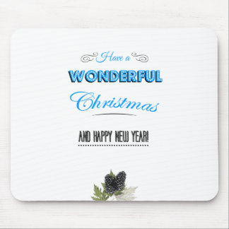 Have a wonderful Carte de voeux and à Happy new ye Tapis De Souris