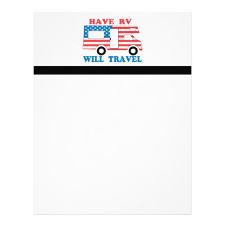 Have RV Will Travel America Customized Letterhead