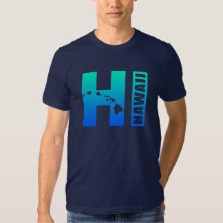 HAWAII (Blue HI Design) Shirt