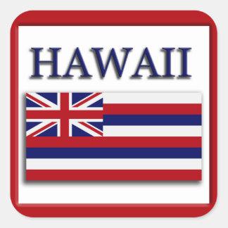 Hawaii State Flag Design Sticker