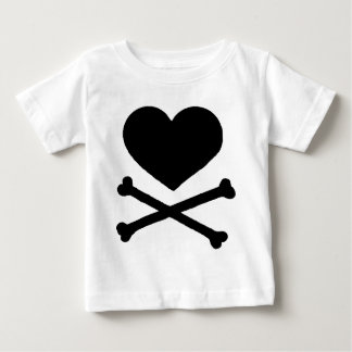 Heart and Cross Bones T-shirts
