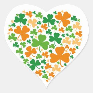 Heart Clover sticker