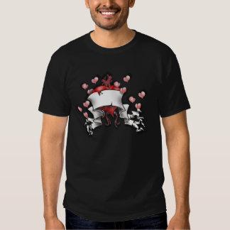 Heart Tattoo T Shirts