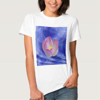 Heart to heart lotus flower shirt