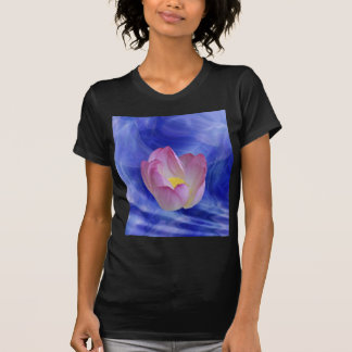 Heart to heart lotus flower t shirts