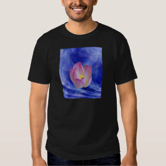Heart to heart lotus flower tshirt