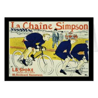 Henri de Toulouse La Chaine Simpson Greeting Card