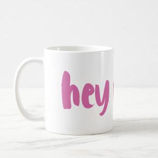 Hey Cutie Coffee Mug | Fuchsia