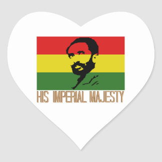 His Imperial Majesty Heart Sticker