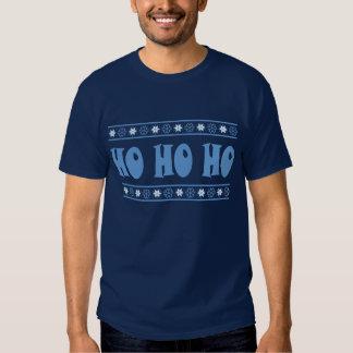 HO HO HO Blue T-shirts