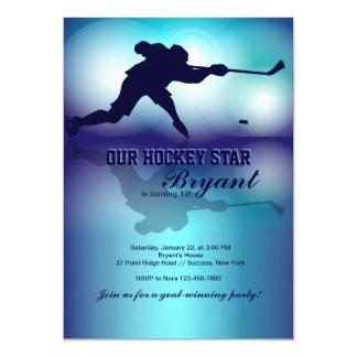 Hockey's My Game Invitation