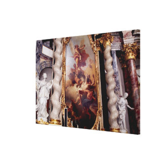 Hofkirche Chapel in the Residenz Palace, Canvas Print