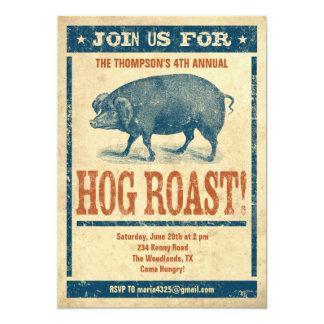 Hog Roast Invitations