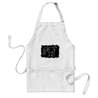Horse and Foal Standard Apron