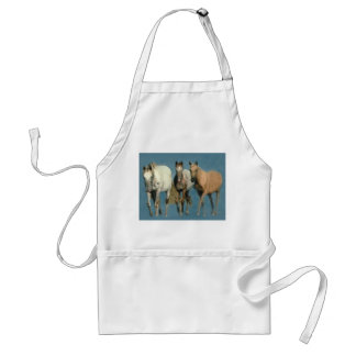 Horses Wild and Wonderful Apron