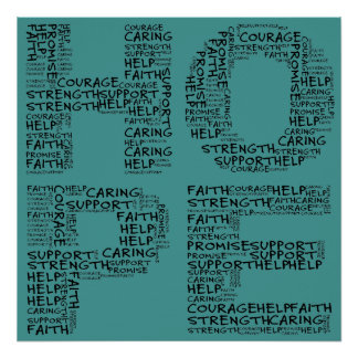 Hospice Workers Embody a Spirit of Hope Poster