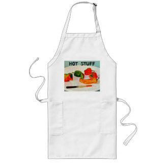 Hot Stuff - Chili Peppers Kitchen Apron