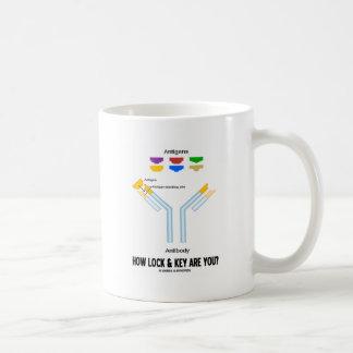 How Lock And Key Are You? (Antigen Antibody) Classic White Coffee Mug