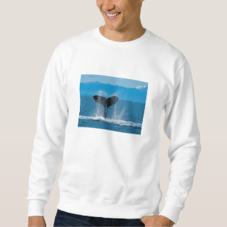 Humpback Whale Pullover Sweatshirt