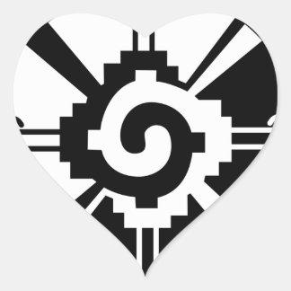 Hunab Ku Heart Sticker