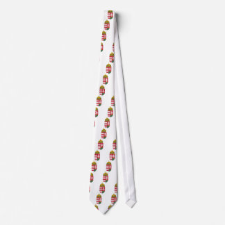 Hungary Coat of Arms Tie