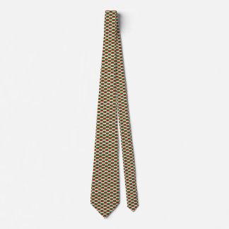 Hungary Flag Honeycomb Tie