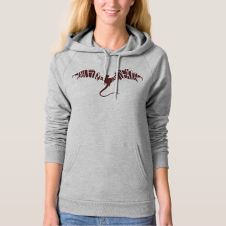 I Am Fire I Am Death - Graphic Hooded Pullover