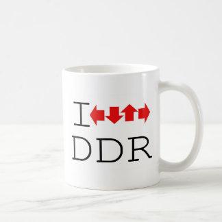I DDR CLASSIC WHITE COFFEE MUG