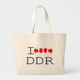 I DDR JUMBO TOTE BAG