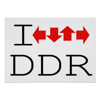 I DDR POSTER