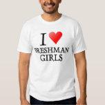 I heart freshman girls t shirts