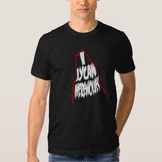 I loups-garou de Lycan T Shirts