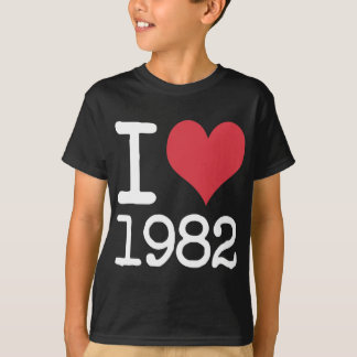 I Love1982 Products & Designs! Shirts
