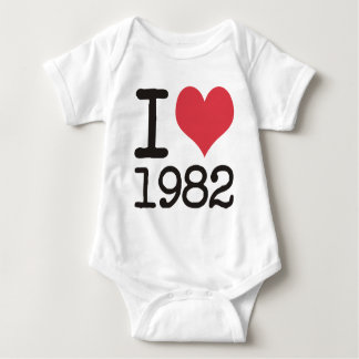 I Love1982 Products & Designs! T Shirt