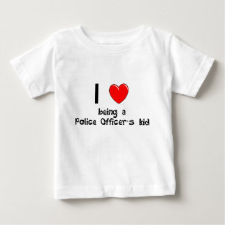 I love being an Police Officer's Kid T-Shirt