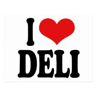 I Love Deli Postcard