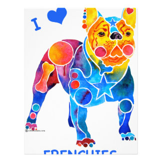 I Love French Bulldogs Flyer