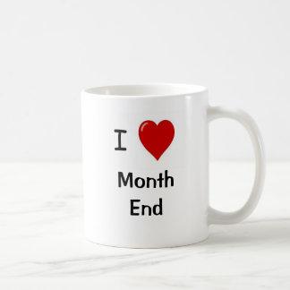 I Love Month End - Reasons Why!! Classic White Coffee Mug