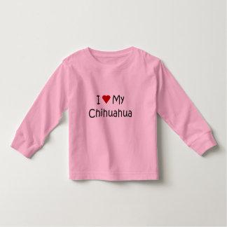I Love My Chihuahua Dog Breed Lover Gifts Shirts