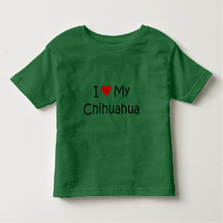I Love My Chihuahua Dog Breed Lover Gifts T Shirt