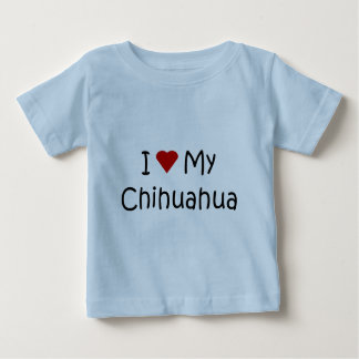 I Love My Chihuahua Dog Breed Lover Gifts T-shirts