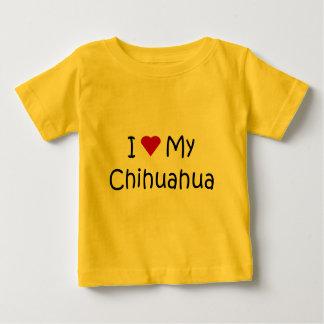 I Love My Chihuahua Dog Breed Lover Gifts Tee Shirt