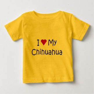 I Love My Chihuahua Dog Breed Lover Gifts Tees