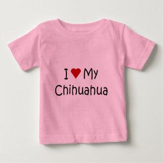 I Love My Chihuahua Dog Breed Lover Gifts Tshirts