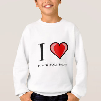 I Love Power Boat Racing T Shirts