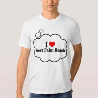 I Love West Palm Beach, United States Tee Shirts