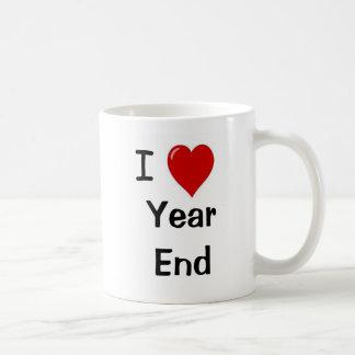 I Love Year End - Reasons Why! Classic White Coffee Mug
