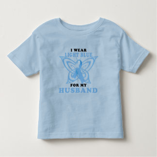 I Wear Light Blue for my Husband Shirts