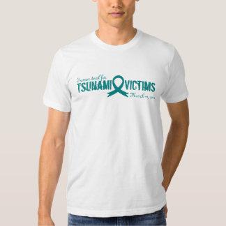 I wear teal for Tsunami Victims Tees